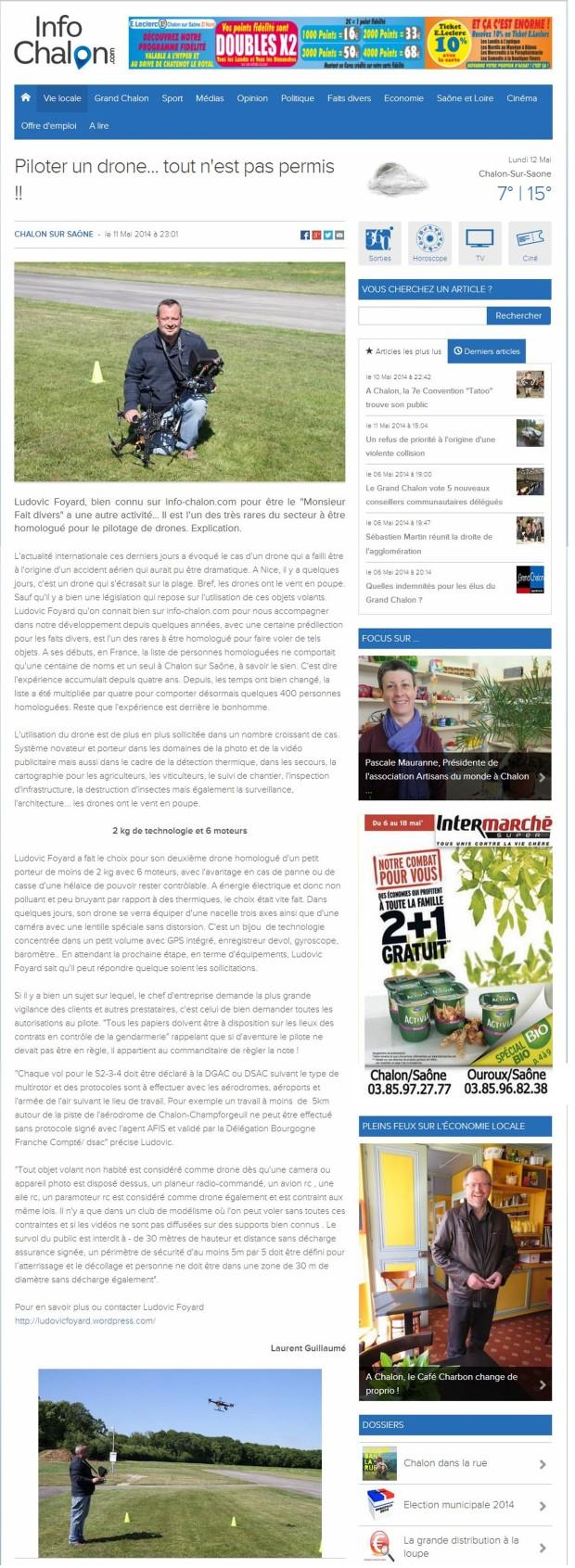 article info chalon
